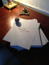 Manuscript is past the final edit!